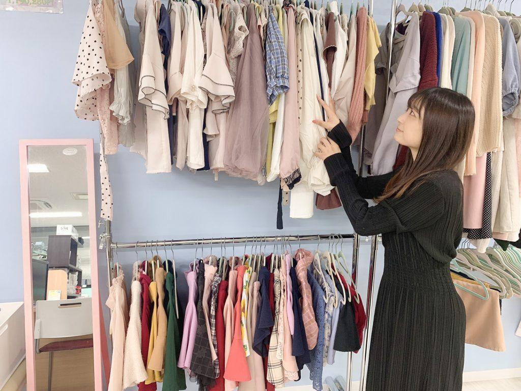 たくさんの衣装